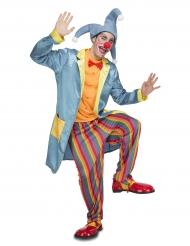 Clown Narren Kostüm für Erwachsene