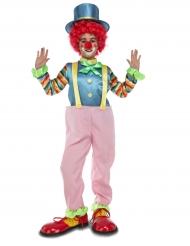 Clown-Kinderkostüm rosa