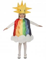 Regenbogen-Kinderkostüm