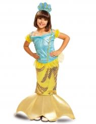 Meerjungfrauen-Kinderkostüm gold