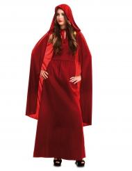 Hexen-Kostüm für Damen rot