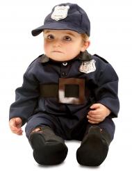 Polizisten-Kleinkindkostüm