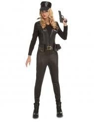 Sexy SWAT-Kostüm für Damen