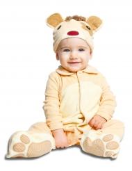Baby Kostüm Teddybär mit Schnuller