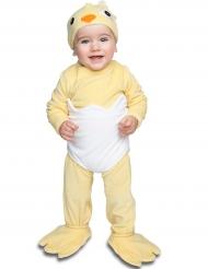 Baby Kostüm Küken mit Schnuller