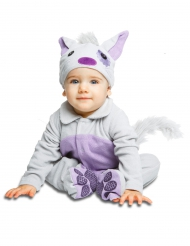 Deluxe Katzen-Kostüm für Babys mit Schnuller