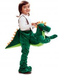 Baby Kostüm Dinosaurier mit Schnuller