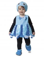 Süsses Babykostüm Oktopus blau