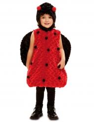 Marienkäfer Overall für Kinder rot-schwarz