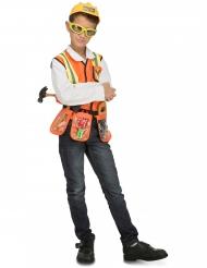 Bauarbeiter Kostümzubehör für Kinder