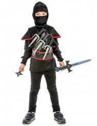 Ninja-Kostüm mit Zubehör für Kinder