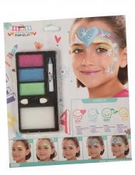 Einhorn Regenbogen Make-up für Mädchen
