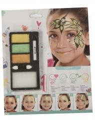 Wald Prinzessin Make-up für Mädchen