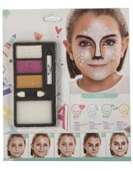 Tier Make-up Reh für Mädchen