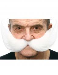Schnurrbart für Herren weiss