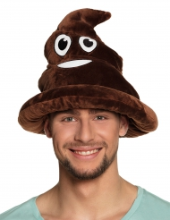 Kothaufen Kopfbedeckung für Erwachsene braun