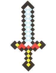Verpixeltes Videospiel-Schwert 50 cm