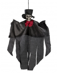 Aufhängbares Tag der Toten Skelett Halloween 30 cm