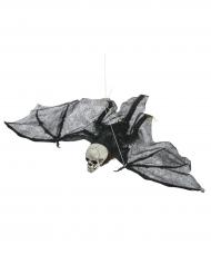 Fledermaus-Skelett Figur Halloweendeko 50 cm