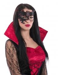 Augenmaske mit Spitze und Kette für Damen