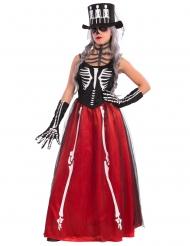 Elegantes Skelett-Kostüm für Damen