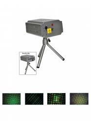 Laserstrahler für Discoeffekte grau