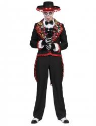 Rromantisches dia de los muertos Kostüm für Herren