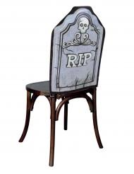 RIP Stuhlhusse 48x61cm für Halloween
