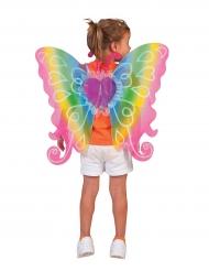 Bunte Feen-Flügel für Kinder 60x54 cm