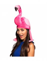 Flamingo Hut für Erwachsene pink