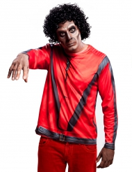 King of Pop T-Shirt rot für Erwachsene