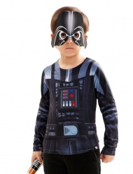 Darth Vader Star Wars™ Kinder-Shirt schwarz-blau