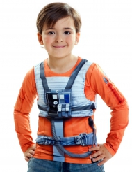 Luke Skywalker Star Wars™ Kinder-Shirt bunt