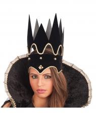 Schwarze Krone für Erwachsene