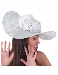 Eleganter Hut weiss für Damen