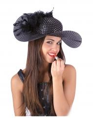 Eleganter Hut schwarz für Damen