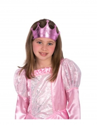 Prinzessinnen-Krone für Mädchen rosa