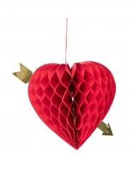 Herz und Pfeil Dekoration 20cm