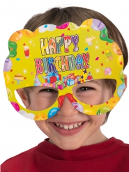 Papiermasken Happy Birthday 6 Stück