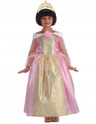 Süße Prinzessin Kinder-Kostüm rosa-gold