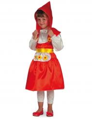 Märchen Kostüm für Mädchen rot
