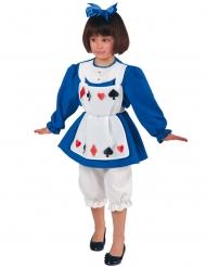 Karten-Prinzessinnen-Kinderkostüm