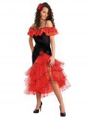 Spanische Tänzerin-Damenkostüm