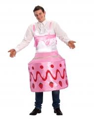 Erdbeerkuchen-Kostüm für Erwachsene