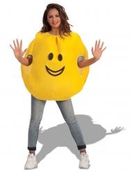 Fröhlicher Emoticon Kostüm Erwachsene