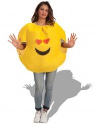 Kostüm verliebter Emoticon Erwachsene