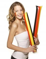 Fanartikel Deutschland-Klatschen 2 Stück schwarz-rot-gold