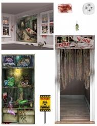 Zombie Deko-Set Halloween bunt