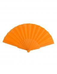 Fächer orange einfarbig
