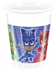 8 Becher PJ Masks™ 200ml